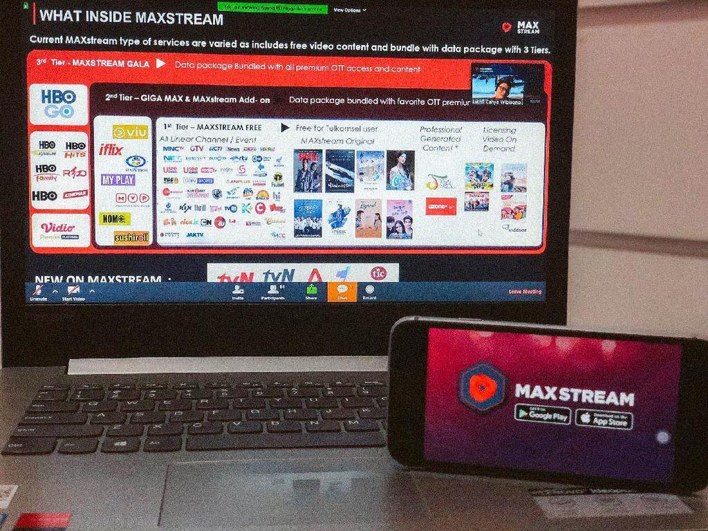 Perkaya Konten, Ada Konser Musik dan Wisuda Online di MAXstream