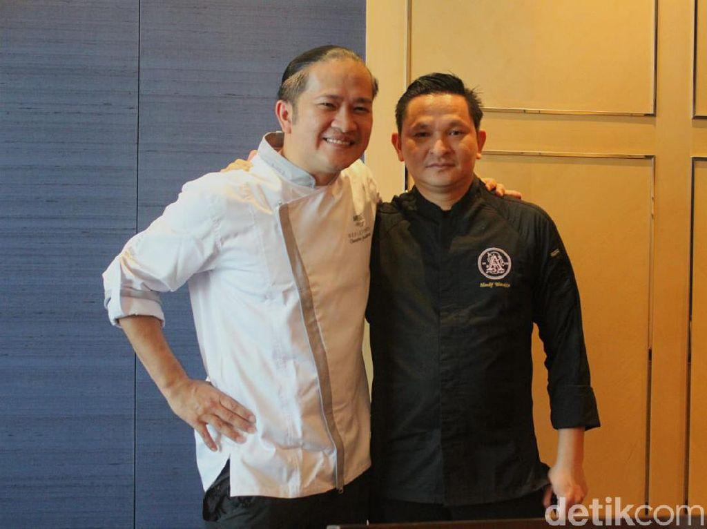Kolaborasi Chef Chandra dan Mandif Sajikan Hidangan Indonesia Modern