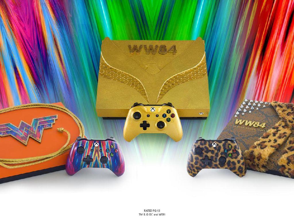 Microsoft Pamerkan Xbox Edisi Terbatas Bertema Wonder Woman