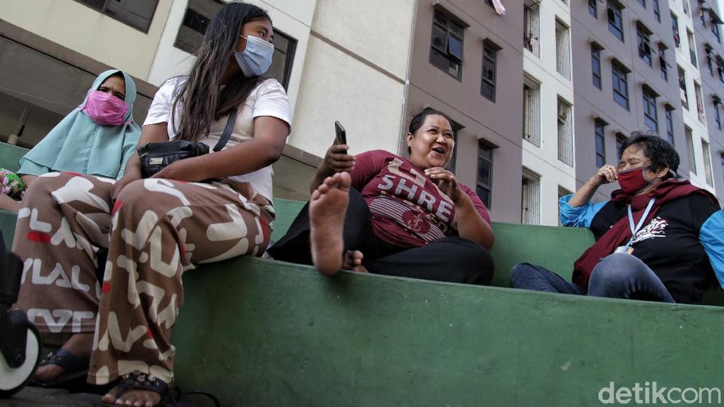 Aktivitas New Normal Rusun Rorotan di Masa Akhir PSBB Jakarta