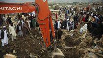 100 Orang Tewas Akibat Banjir dan Tanah Longsor di Afghanistan