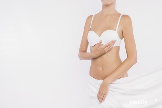 Hindari pemakaian bra yang ketat agar payudara tidak lembap