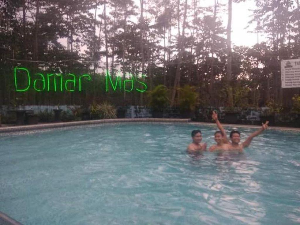 Foto: Selamat Pagi dari Resort Keren di Lereng Gunung Kelud