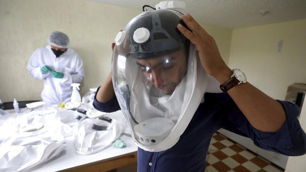 Kolombia Kembangkan Helm Astronot Anti-Corona