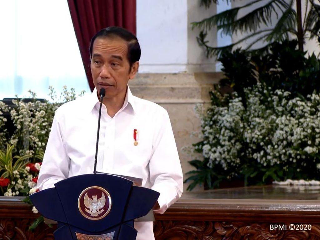Bicara Resesi di Depan Gubernur, Jokowi Soroti Belanja Daerah Masih Minim