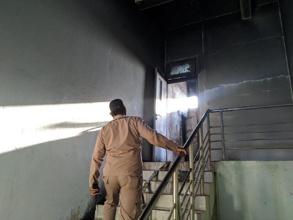 Ruang Laboratorium Undip Terbakar, Satu Mahasiswa Praktikum Terluka
