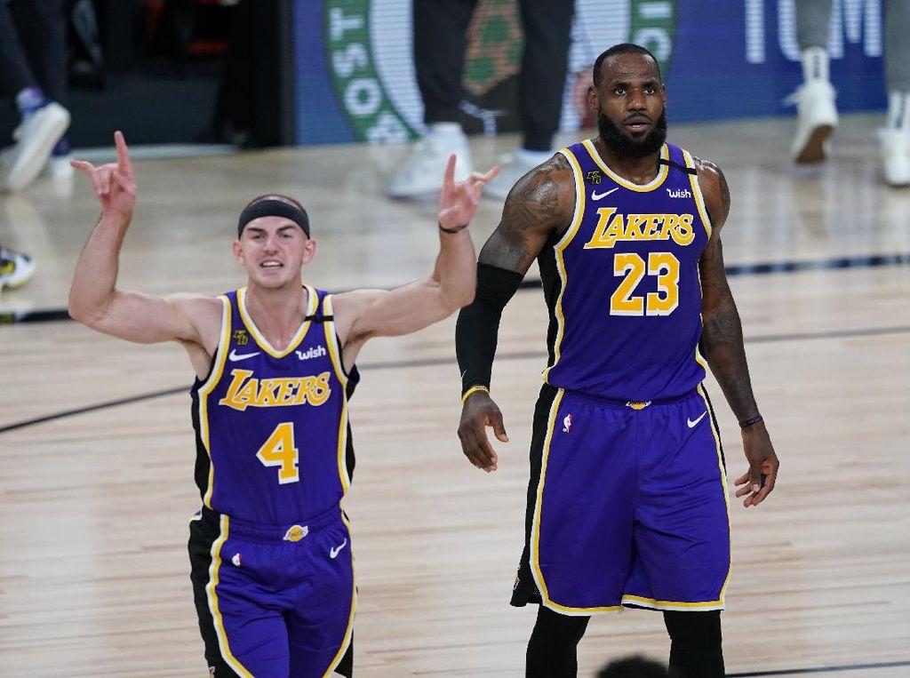 Hasil NBA: LA Lakers Selangkah ke Final Wilayah Barat