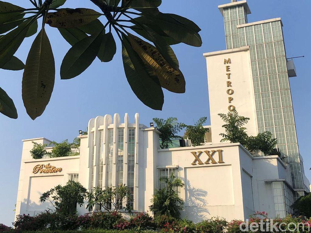 Suasana Metropole XXI Jelang Dibukanya Lagi Bioskop di Jakarta