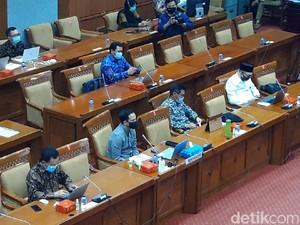 Rapat Bareng Nadiem, Komisi X Tanya Paten Merdeka Belajar-Organisasi Penggerak