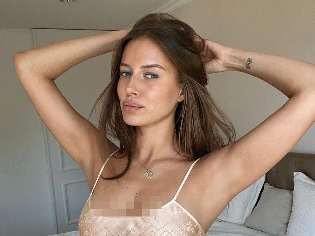 Kisah Nicole Poturalski, Pacar Baru Brad Pitt yang Ternyata Masih Istri Orang