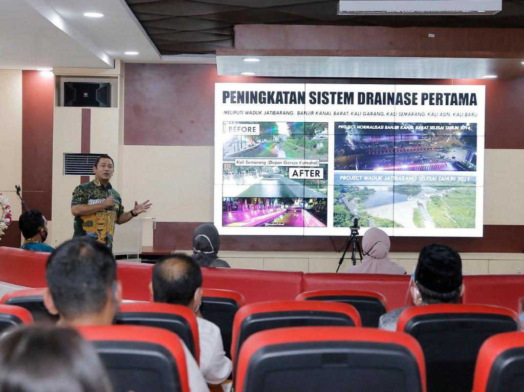 Wakil Ketua DPRD Jakarta Belajar Tangani Banjir dari Kota Semarang