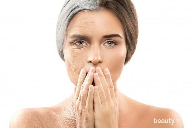 Pipi dan rahang bawah menjadi salah satu bagian yang sangat rentan terhadap kulit yang terkulai.