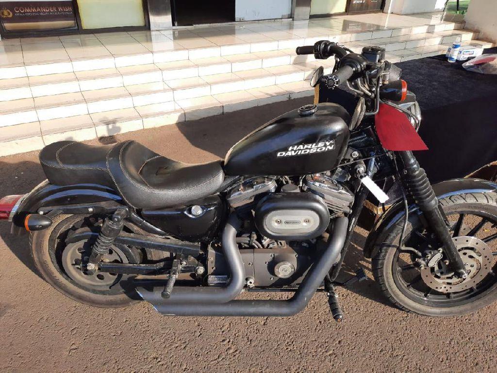 Polisi Sebut Harley-Davidson yang Dicuri Hendak Dijual Lagi oleh Pelaku