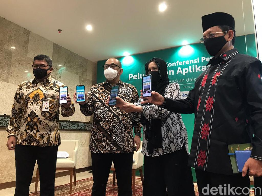 Bank Mega Syariah-Masjid Istiqlal-DOKU Luncurkan Aplikasi E-Istiqlal