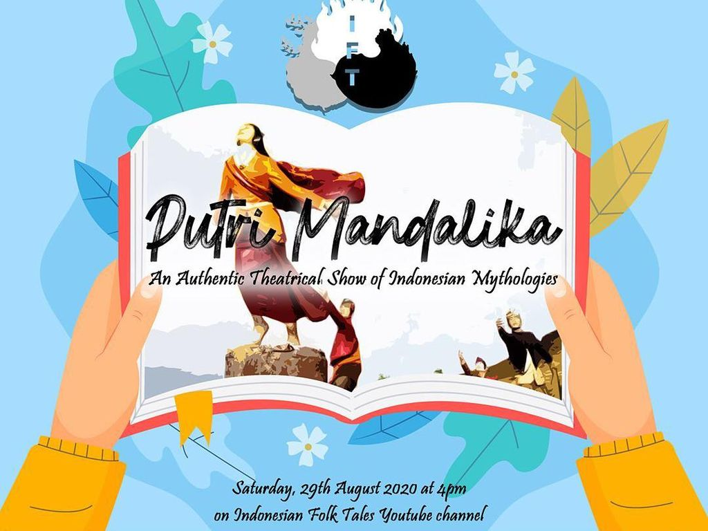 Teater Keliling Gelar Pentas Daring soal Putri Mandalika Asal Lombok