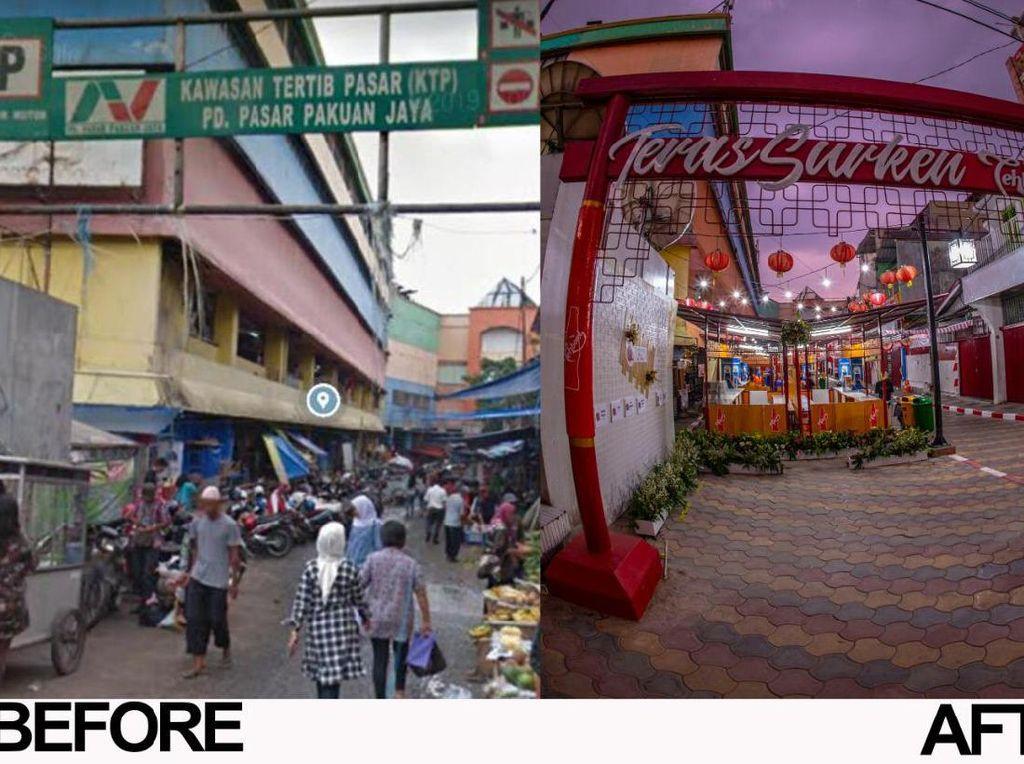 Ini Kata Pedagang & Warga Soal Pusat Kuliner Teras Surken Bogor