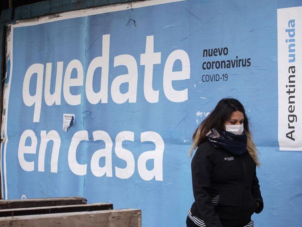 Corona Meluas, Argentina Perketat-Perluas Lockdown