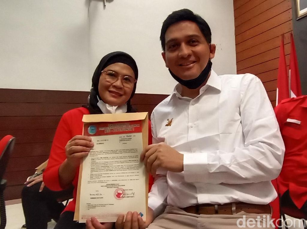 Megawati Tunjuk Artis Lucky Hakim Dampingi Anak Dai Bachtiar di Indramayu
