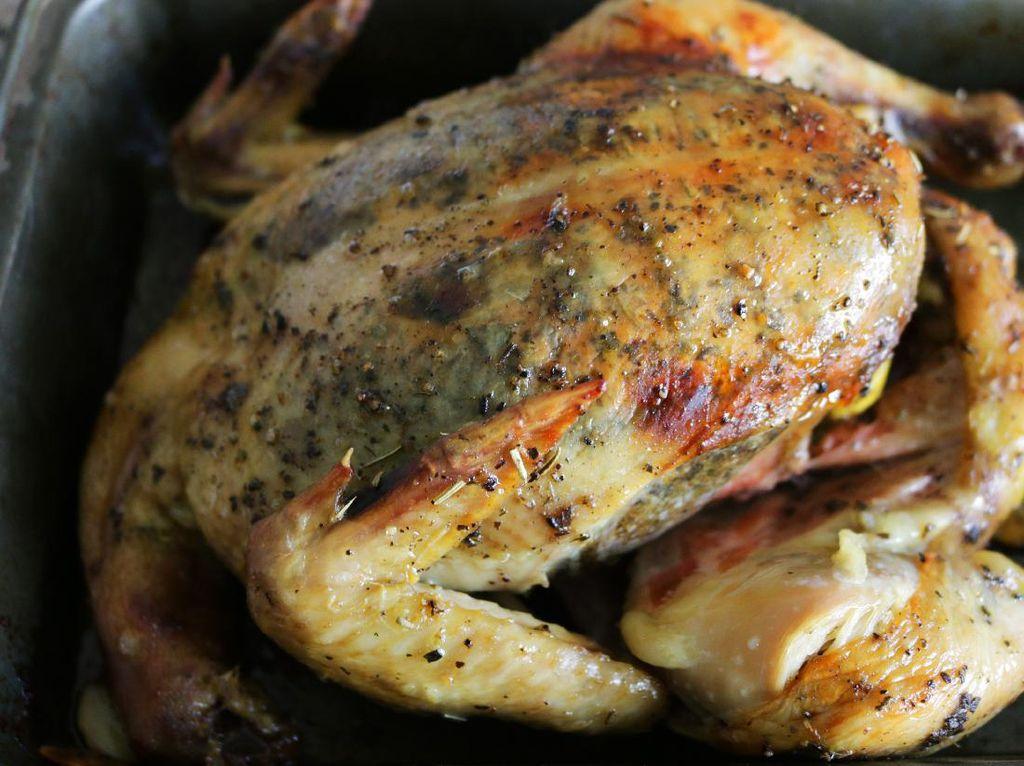 Resep Ayam Panggang Oven yang Gurih Krispi