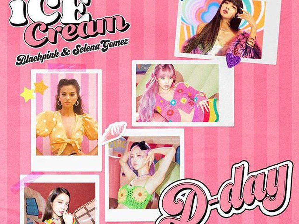 MV Blackpink & Selena Gomez Ice Cream Keluar, Intip Lagi Prestasinya