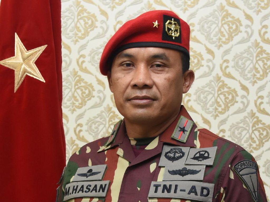 Brigjen Moh Hasan, Eks Pengawal Jokowi yang Kini Jadi Danjen Kopassus