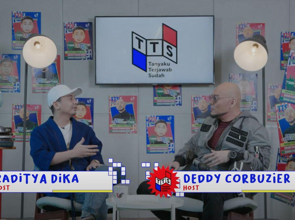 Ternyata Deddy Corbuzier Sempat Blokir Raditya Dika, Ada Apa?