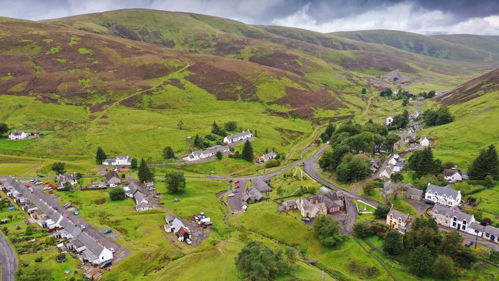 Potret Desa Tertinggi di Skotlandia