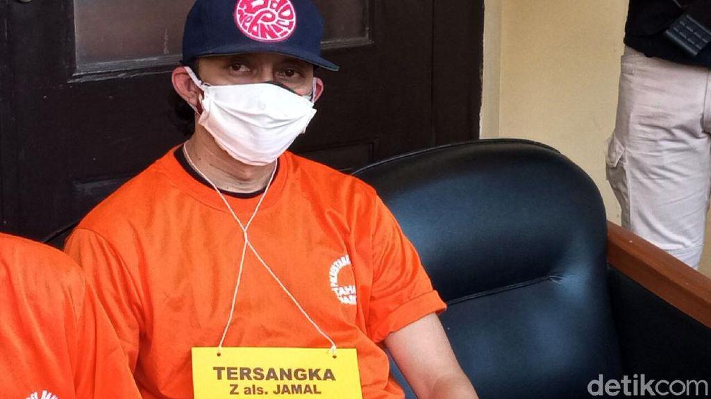 Ditangkap Terkait Narkoba, Jamal Preman Pensiun Berbaju Tahanan