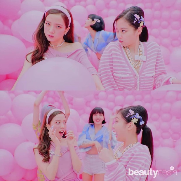 Gaya Blackpink dan Selena Gomez di MV Ice Cream