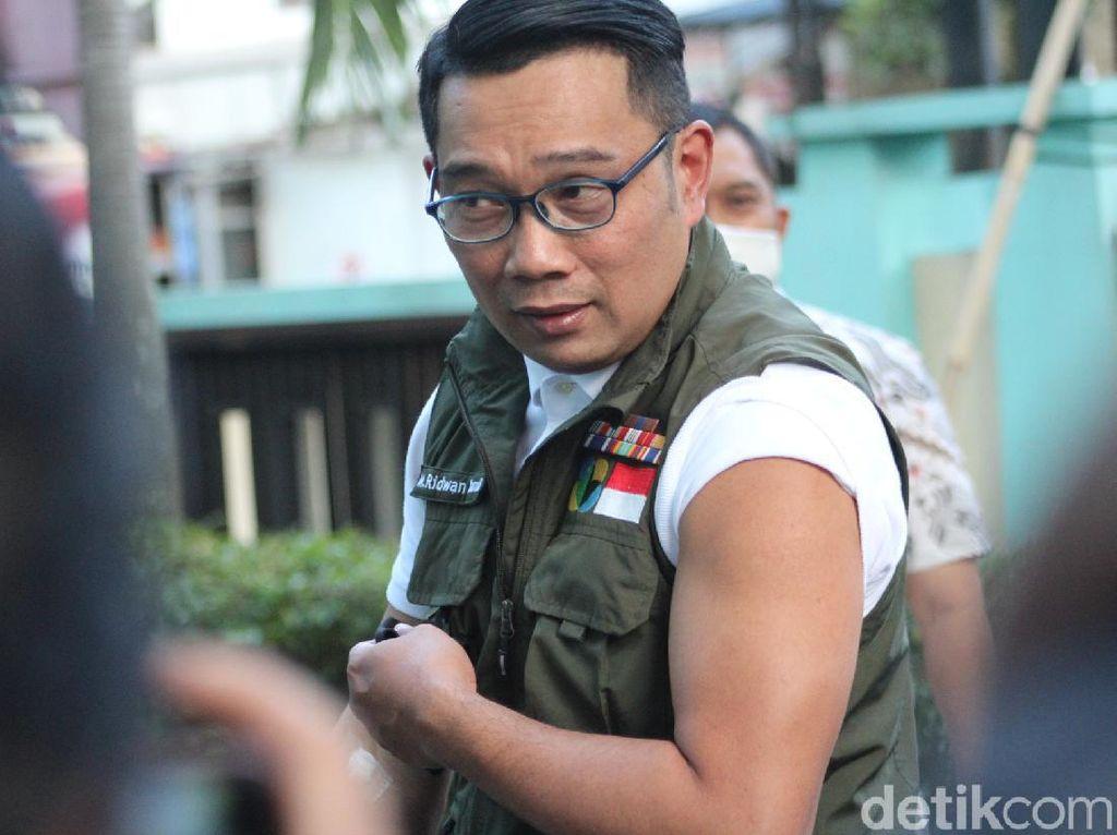 Difitnah Pura-pura Disuntik, Ridwan Kamil Nggak Baper
