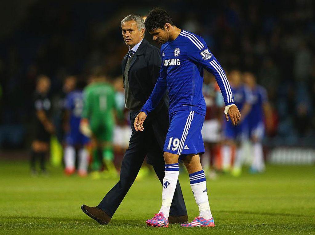 Jose Mourinho dan Diego Costa Reuni Nih?