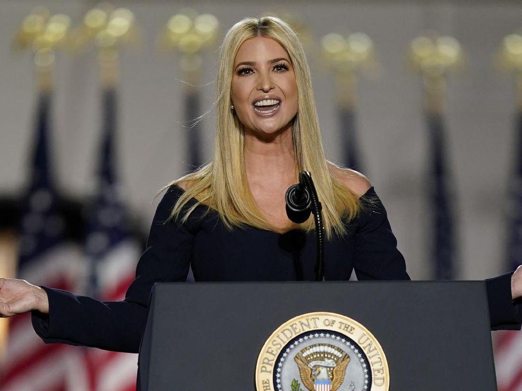 Puji Perusuh Sebagai Patriot, Tweet Putri Donald Trump Dikecam