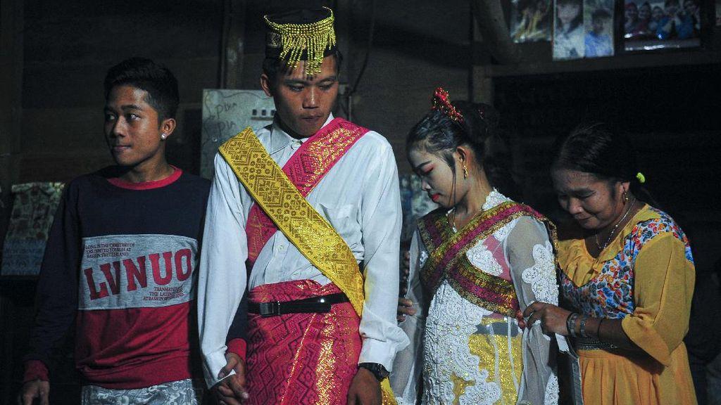 Menjaga Gawai, Upacara Pernikahan Suku Talang Mamak