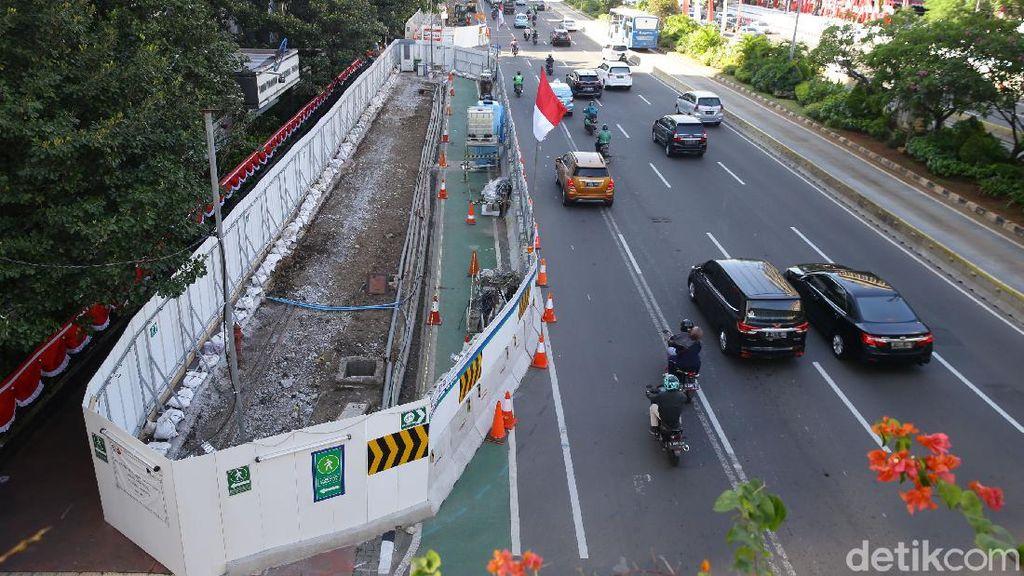 MRT Fase II Masuk Tahap Tes Pit hingga Pencabutan Pohon