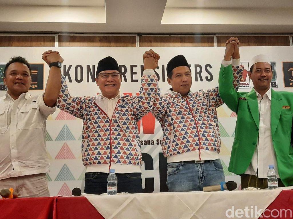 Gerindra-PKB-PPP Usung Danang Wicaksana-Agus Choliq di Pilkada Sleman