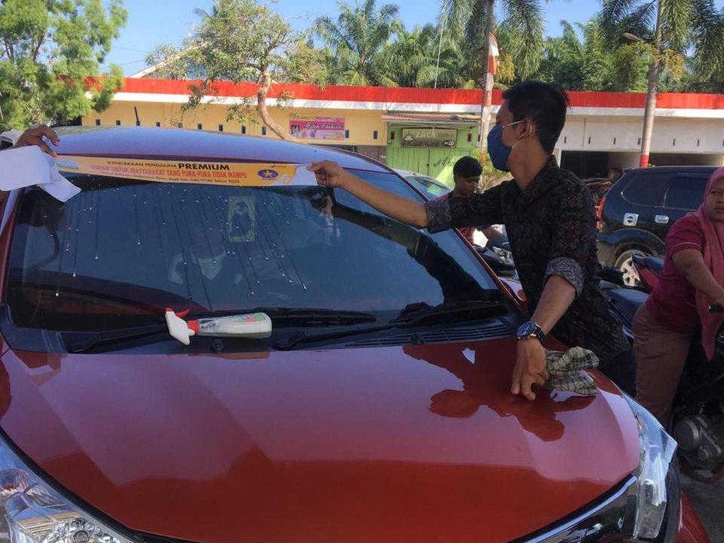 Dikritik DPR Aceh, Aturan Stiker Sindiran BBM Subsidi di Mobil Mewah Dicabut
