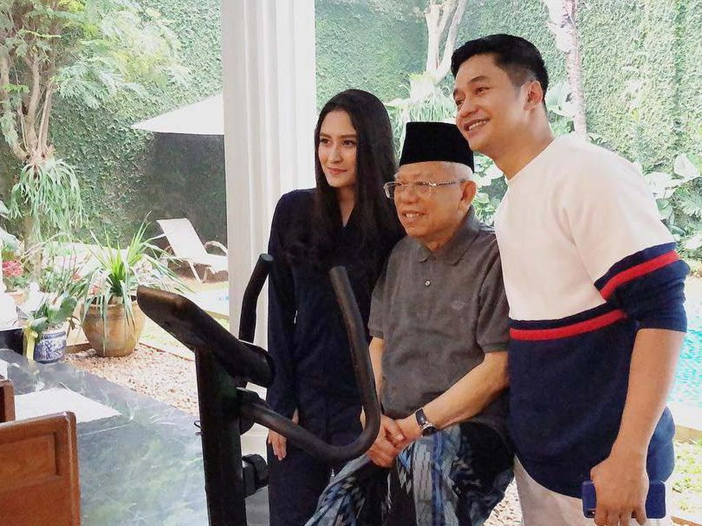 Jubir Wapres Ungkap Adly Fairuz Bukan Cucu Maruf Amin: Famili