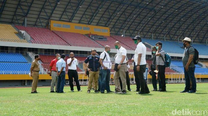 PSSI meninjau Stadion Gelora Jakabaring.