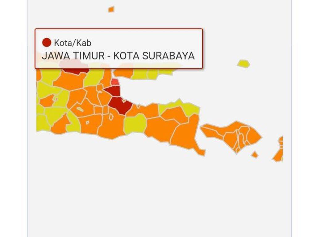 Saran Pakar Epidemiologi untuk Surabaya yang Merah-Oranye Terus