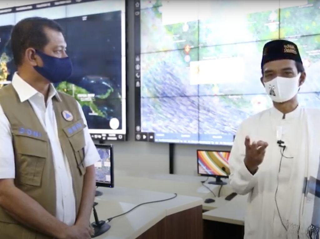 Video Pesan Ustaz Abdul Somad Saat Sambangi BNPB