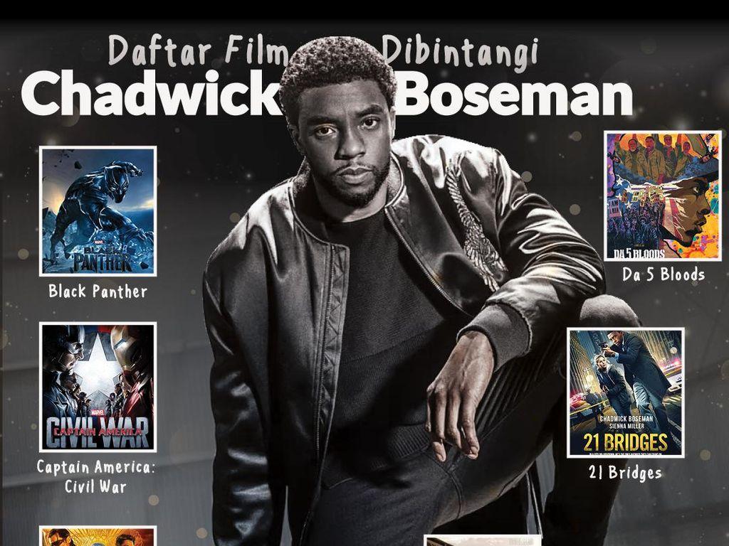 Daftar Film yang Dibintangi Chadwick Boseman