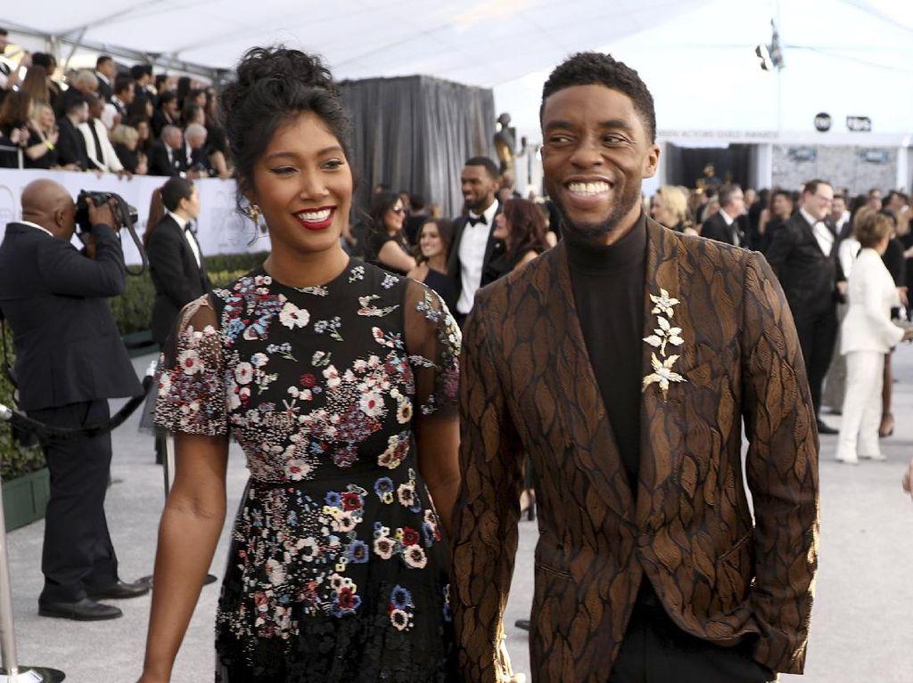 Mengenal Sosok Istri Chadwick Boseman yang Jarang Terekspos Publik