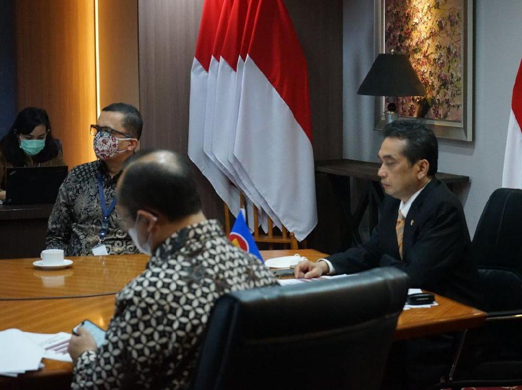 Menteri Ekonomi se-ASEAN Sepakat Dorong Digitalisasi Perdagangan