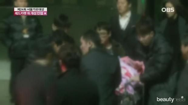 Kondisi Saat Taeyeon Jatuh/ Foto: Koreaboo