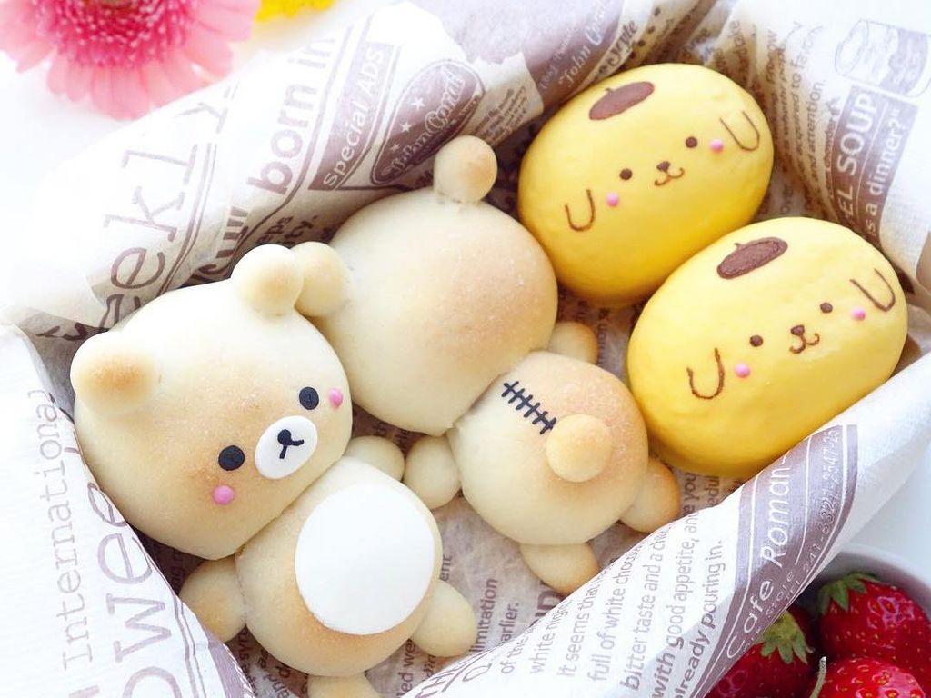 Gemas! 10 Japanese Milk Bun Lucu Bentuk Stroberi hingga Beruang