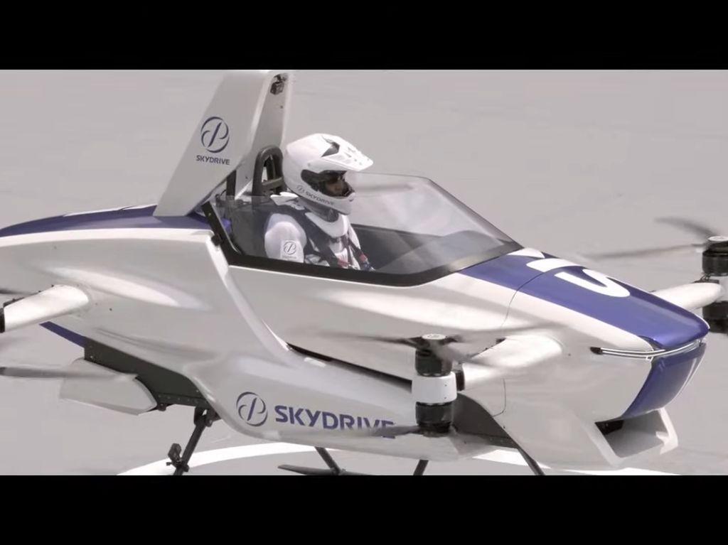 Video Wujud Mobil Terbang, Calon Transportasi Baru dari Jepang