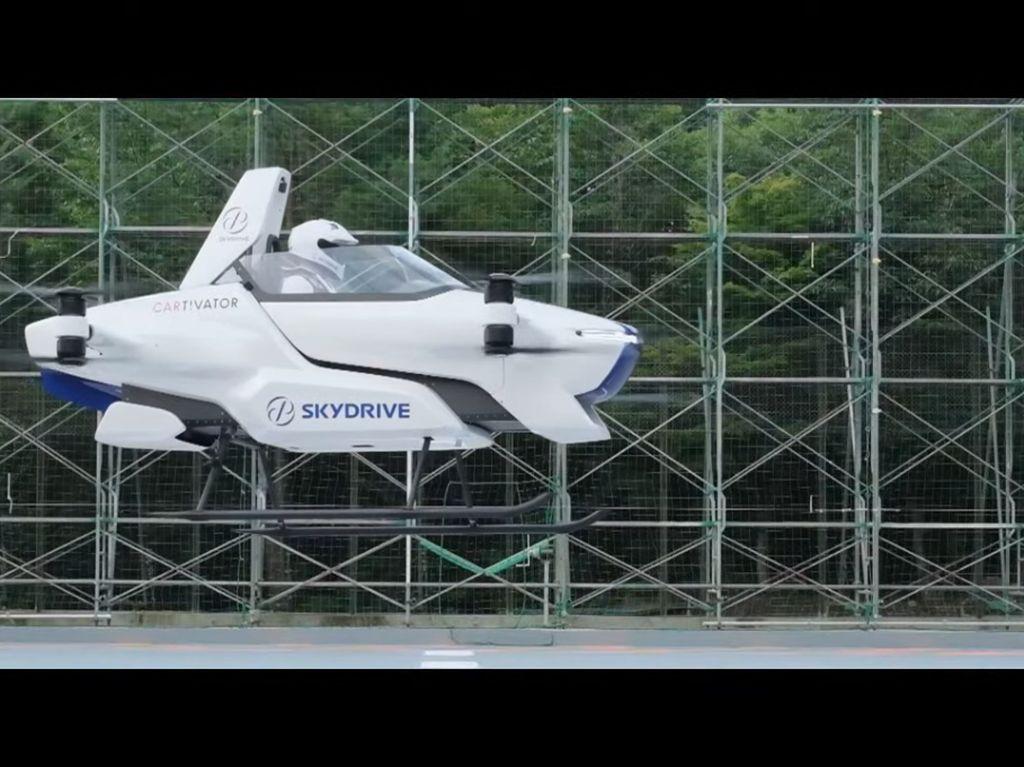 Mobil Terbang Sukses Diuji, Sebentar Lagi Bisa Dibeli