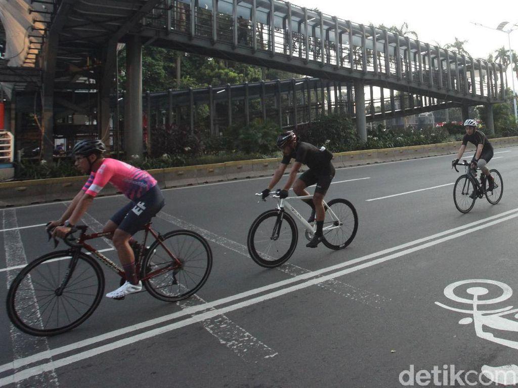 Dishub DKI Umumkan Hasil Simulasi Road Bike Masuk Tol Rabu 9 September