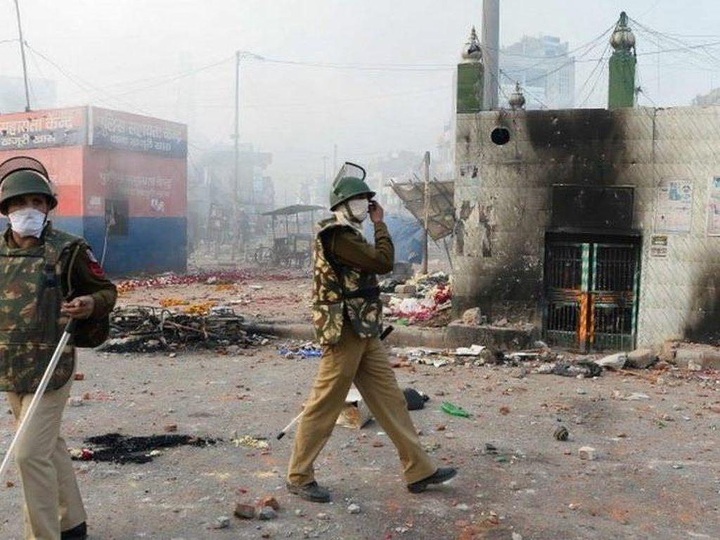 Polisi India Dituduh Langgar HAM dalam Kerusuhan Bernuansa Agama