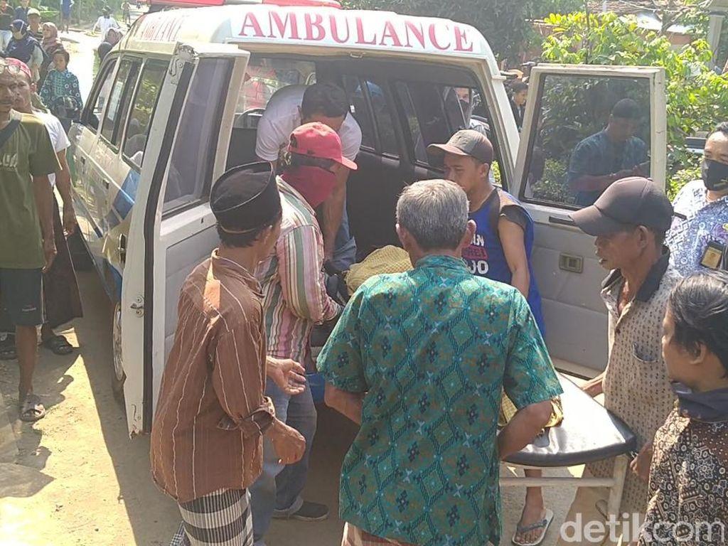 Susul Balitanya, Istri Korban Suami Bakar Diri dan Keluarga Meninggal